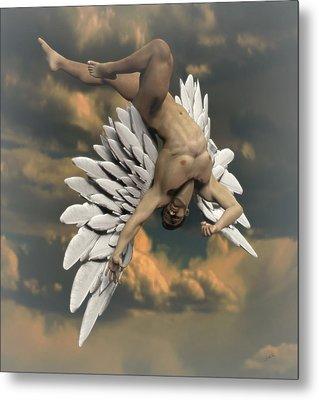 Angel Icarus Metal Print by Joaquin Abella