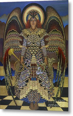Angel Metal Print by Jane Whiting Chrzanoska