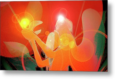 Angel-light No. 01 Metal Print by Ramon Labusch