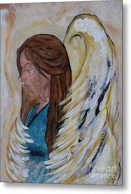 Angel Of Comfort Metal Print by Ella Kaye Dickey