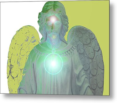 Angel Of Devotion No. 10 Metal Print by Ramon Labusch