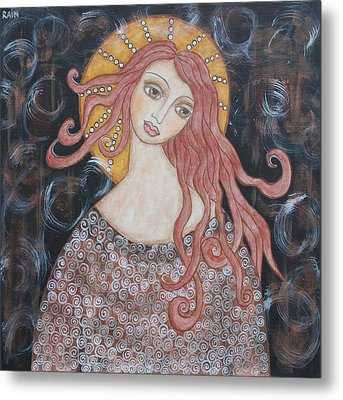 Angel Of Grace Metal Print by Rain Ririn
