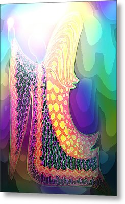 Angel Of Gratitude Metal Print by Mairin Gilmartin
