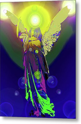 Angel Of Harmony No. 09 Metal Print by Ramon Labusch