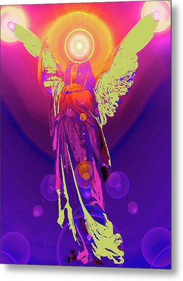 Angel Of Harmony No. 10 Metal Print by Ramon Labusch