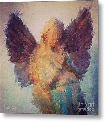 Angel Of Hope Metal Print by Robert ONeil