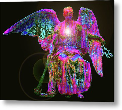 Angel Of Justice No. 02 Metal Print by Ramon Labusch