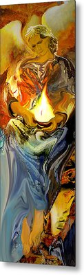 Angel Of Light Metal Print by Anne Weirich