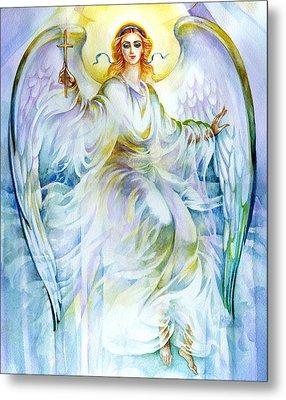 Angel Of Love Metal Print by Karen Showell