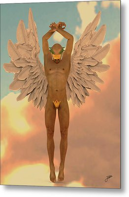 Angel Of The Crazy Life Metal Print