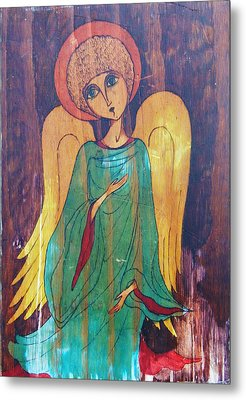 Angel Metal Print by Rae Chichilnitsky