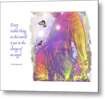 Metal Print featuring the photograph Angel Vision by Marie Hicks