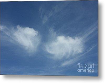 Angel Wings In The Sky Metal Print by Carol Groenen