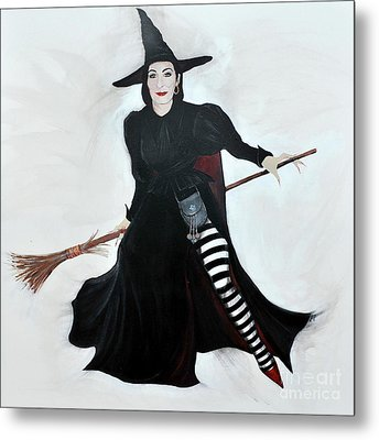 Angelica Houston Bewitched Metal Print