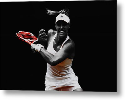 Angelique Kerber 3e Metal Print by Brian Reaves