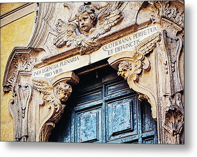 Angels In Rome Italy Metal Print