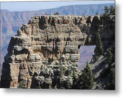 Angel's Window  -- North Rim Grand Canyon Metal Print