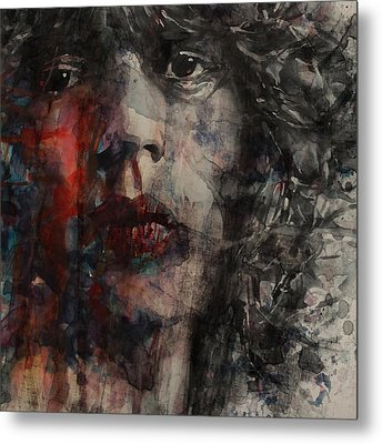 Angie I Still Love You Baby  Every Where I Look I See Your Eyes Metal Print by Paul Lovering