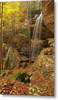 Anglin Falls Berea Kentucky Metal Print