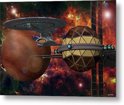 Angry Sky Metal Print by James C Jones II