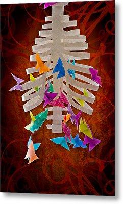 Angst  Metal Print by Maggie Terlecki