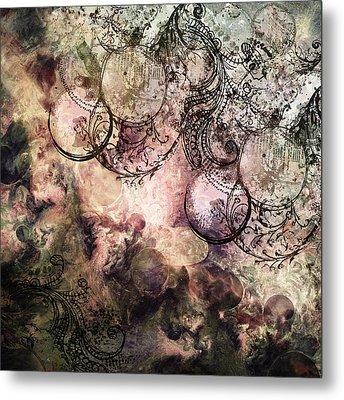 Anima Abstract Metal Print