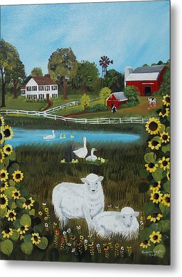 Animal Farm Metal Print