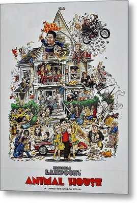 Animal House  Metal Print