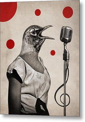 Animal16 Metal Print by Francois Brumas