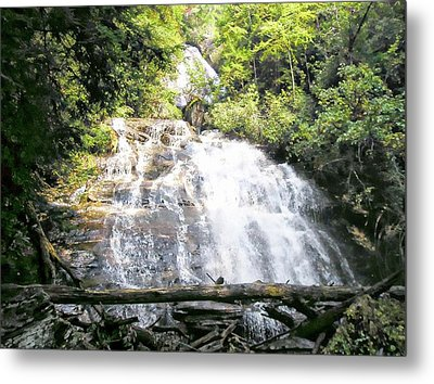 Anna Ruby Falls Metal Print by Jerry Battle
