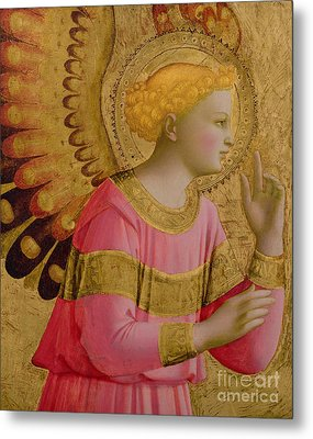 Annunciatory Angel Metal Print by Fra Angelico