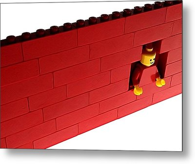 Metal Print featuring the photograph Another Brick In The Wall by Mark Fuller