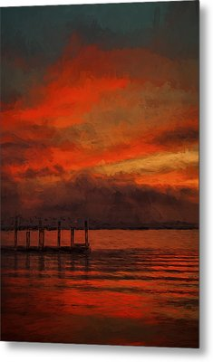 Another Day Is Done 2 Metal Print by Dave Bosse