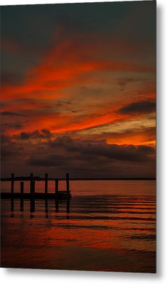 Another Day Is Done Metal Print by Dave Bosse