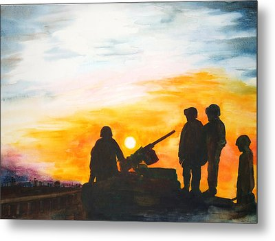 Another Day Metal Print by Maureen Dean