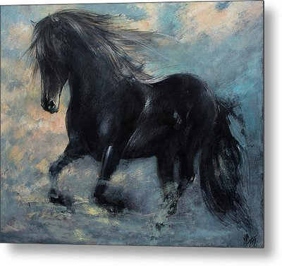 Another Kind Of Flight Metal Print by Vali Irina Ciobanu