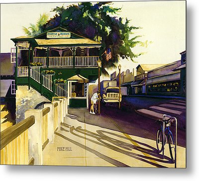 Another Morning In Maui Metal Print by Mike Hill