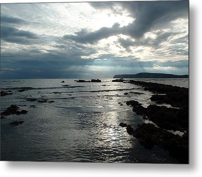 Another Storm Passes Metal Print by Mira Cooke