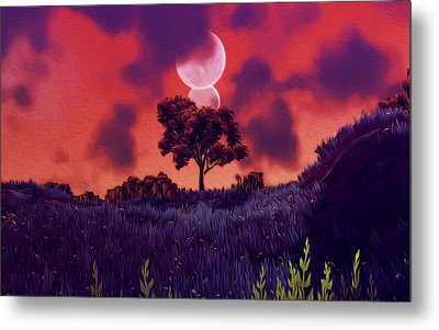 Another Time Another Space Metal Print by Andrea Mazzocchetti