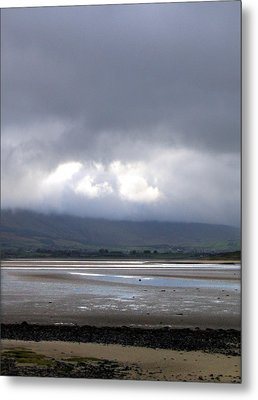 Another View From Strandhill Beach Ireland Metal Print by Amy Williams
