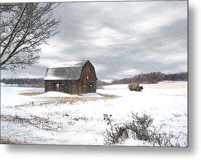 Another Winter Day Metal Print by Gary Smith