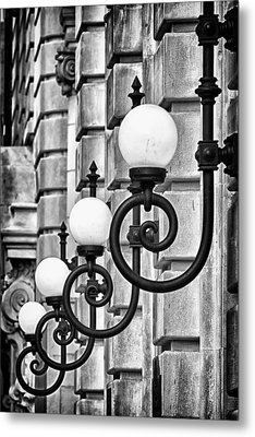 Ansonia Building Detail 20 Metal Print by Val Black Russian Tourchin