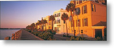 Antebellum Architecture Battery Metal Print