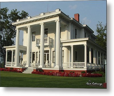 Antebellum Home Gone With The Wind Style Southern Living Home Metal Print by Reid Callaway
