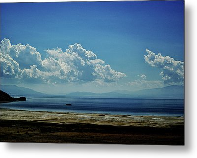 Metal Print featuring the photograph Antelope Island, Utah by Cynthia Powell