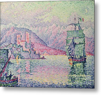 Antibes Metal Print by Paul Signac