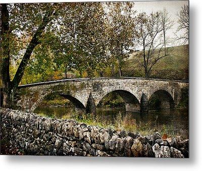 Burnside's Bridge Over Antietam Creek Metal Print