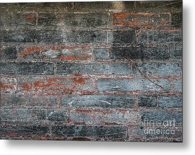 Metal Print featuring the photograph Antique Brick Wall by Elena Elisseeva