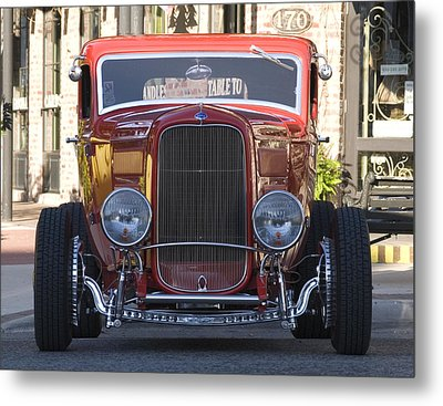 Antique Coup Front End Metal Print