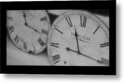 Antique Time Metal Print by Heidi Hermes